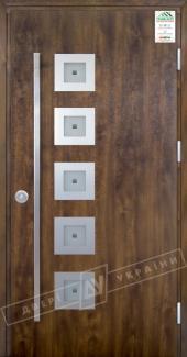Входные двери Двери Украины Grand House Модель №2 ручка Fashion