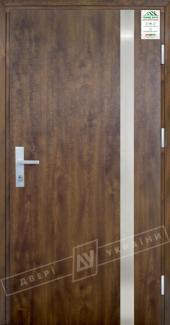 Входные двери Двері України Grand House 73 мм Модель №7 темний горіх