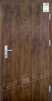 Входные двери Двері України Grand House 73 мм Модель Flash темний горіх