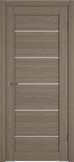 Межкомнатные двери Двери Atum Pro 27 Hygge Brun стекло Сатин