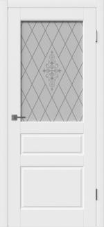 Межкомнатные двери Двері Chester Hygge Polar зі склом