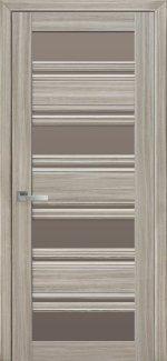 Межкомнатные двери Венеция Новый Стиль жемчуг magica стекло С2 бронза