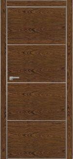 Межкомнатные двери Двері Italwood Metalbox Омега Палісандр 874 + AL глухе