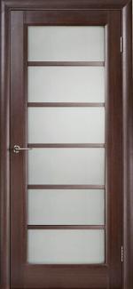 Межкомнатные двери Калипсо НСД дуб графит со стеклом