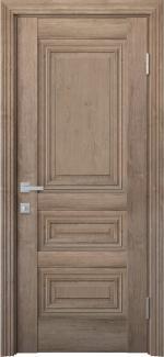 Межкомнатные двери Камилла Новый Стиль орех европейский глухое