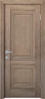 Межкомнатные двери Канна Новый Стиль орех европейский глухое