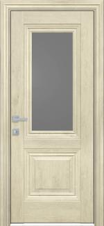 Межкомнатные двери Канна Новый Стиль орех гималайский стекло графит
