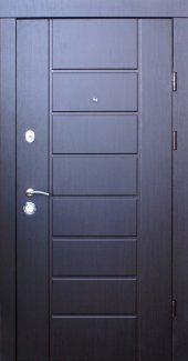 Двері Qdoors Еталон Канзас венге темний з двох сторін