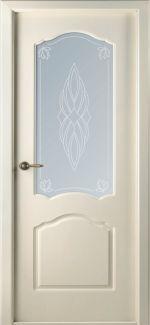 Двери Каролина Evo Pro BelWoodDoors (Беларусь) слоновая кость со стеклом