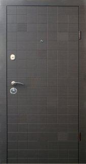 Двері Qdoors Еталон Каскад венге сірий горизонт з двох сторін