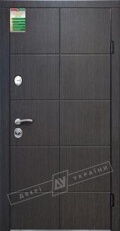 Двери Кейс Сити Двери Украины венге горизонт темное входная дверь