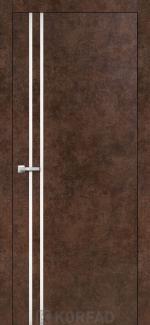 Межкомнатные двери Двери Aluminium Loft Plato ALP-01 Корфад арт бетон глухое
