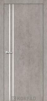 Межкомнатные двери Двери Aluminium Loft Plato ALP-01 Корфад лайт бетон глухое