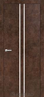 Межкомнатные двери Двери Aluminium Loft Plato ALP-02 Корфад арт бетон глухое