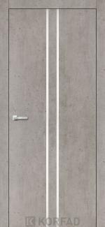 Межкомнатные двери Двери Aluminium Loft Plato ALP-02 Корфад лайт бетон глухое