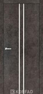 Межкомнатные двери Двери Aluminium Loft Plato ALP-02 Корфад лофт бетон глухое