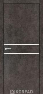 Межкомнатные двери Двери Aluminium Loft Plato ALP-03 Корфад лофт бетон глухое