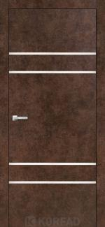 Межкомнатные двери Двери Aluminium Loft Plato ALP-04 Корфад арт бетон глухое