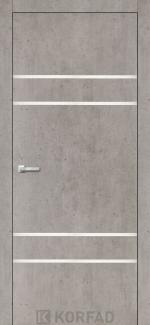 Межкомнатные двери Двери Aluminium Loft Plato ALP-04 Корфад лайт бетон глухое
