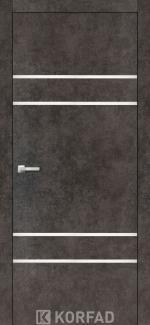 Межкомнатные двери Двери Aluminium Loft Plato ALP-04 Корфад лофт бетон глухое