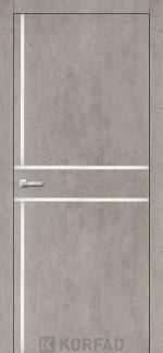Межкомнатные двери Двери Aluminium Loft Plato ALP-06 Корфад лайт бетон глухое
