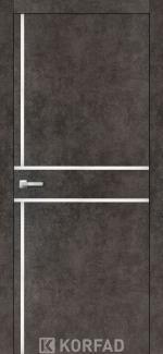 Межкомнатные двери Двери Aluminium Loft Plato ALP-06 Корфад лофт бетон глухое