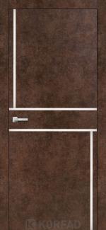 Межкомнатные двери Двери Aluminium Loft Plato ALP-07 Корфад арт бетон глухое