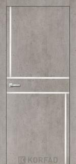 Межкомнатные двери Двери Aluminium Loft Plato ALP-07 Корфад лайт бетон глухое