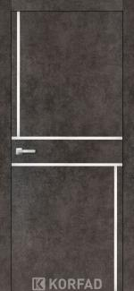 Межкомнатные двери Двери Aluminium Loft Plato ALP-07 Корфад лофт бетон глухое
