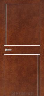 Межкомнатные двери Двери Aluminium Loft Plato ALP-07 Корфад сталь кортен глухое