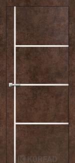 Межкомнатные двери Двери Aluminium Loft Plato ALP-08 Корфад арт бетон глухое