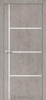 Межкомнатные двери Двери Aluminium Loft Plato ALP-08 Корфад лайт бетон глухое