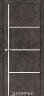 Межкомнатные двери Двери Aluminium Loft Plato ALP-08 Корфад лофт бетон глухое
