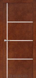 Межкомнатные двери Двери Aluminium Loft Plato ALP-08 Корфад сталь кортен глухое