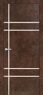 Межкомнатные двери Двери Aluminium Loft Plato ALP-09 Корфад арт бетон глухое