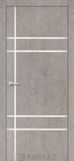 Межкомнатные двери Двери Aluminium Loft Plato ALP-09 Корфад лайт бетон глухое