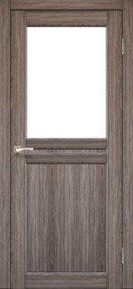 Двері Korfad Milano ML-03 дуб грей скло Сатін