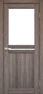 Двері Korfad Milano ML-04 дуб грей скло Сатін