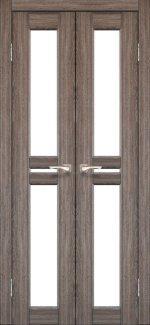 Двери Milano ML-08 Корфад Дуб Грей со стеклом