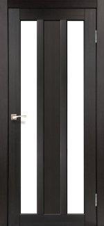 Двери Корфад Napoli NP-01 венге стекло Сатин