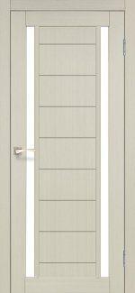 Двери Корфад Oristano OR-04 беленый дуб стекло Сатин