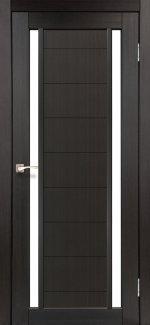 Двери Корфад Oristano OR-04 венге стекло Сатин