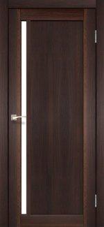 Двери Корфад Oristano OR-06 орех стекло Сатин