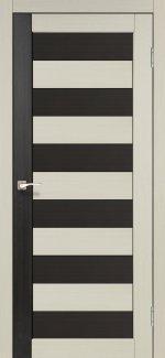 Двери Корфад Porto Combi Colore PC-03 беленый дуб глухое