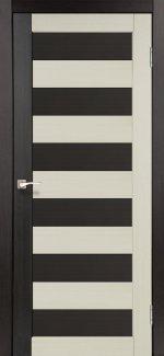 Двери Корфад Porto Combi Colore PC-03 венге глухое