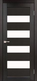 Двери Корфад Piano Deluxe PND-02 венге стекло Сатин