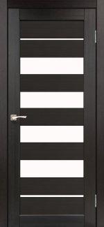 Двери Корфад Piano Deluxe PND-03 венге стекло Сатин