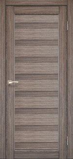 Межкомнатные двери Двери Porto PR-05 Корфад дуб грей глухое