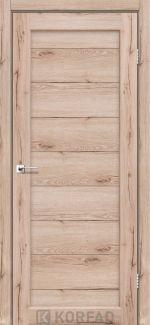 Двери Porto PR-05 дуб тобакко глухое