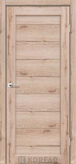 Межкомнатные двери Porto PR-05 Корфад дуб тобакко глухое
